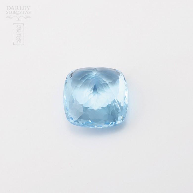 58,11克拉微深蓝色透亮蓝晶 - 3