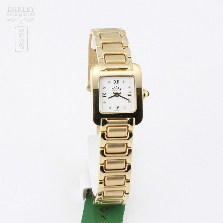 Reloj señora Dogma 267 419946 4852  Oro 18k
