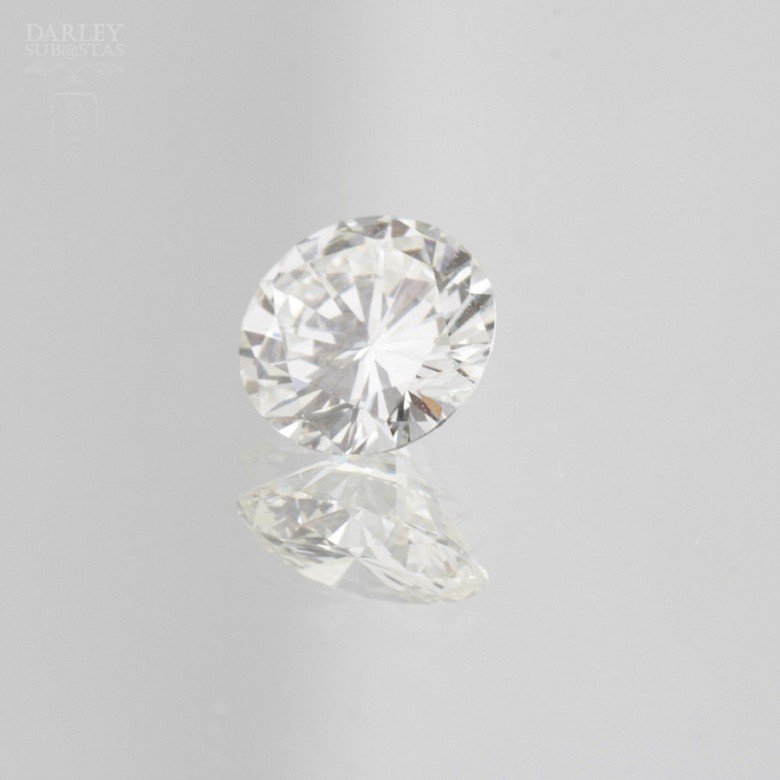 Diamante natural, talla brillante, color G, pureza VVS2, de peso  1.11 cts , - 4