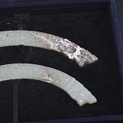 Pareja de Jades, Dinastía Zhou Reinos Combatientes - 5
