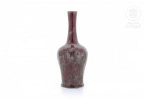 Glazed ceramic vase, China, 20th century