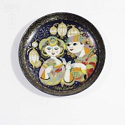 Four Rosenthal porcelain plates, 20th century - 9