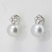 You and I Australian pearls and diamonds