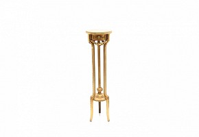 Louis XVI style support, gilded wood, ffs.s.XIX
