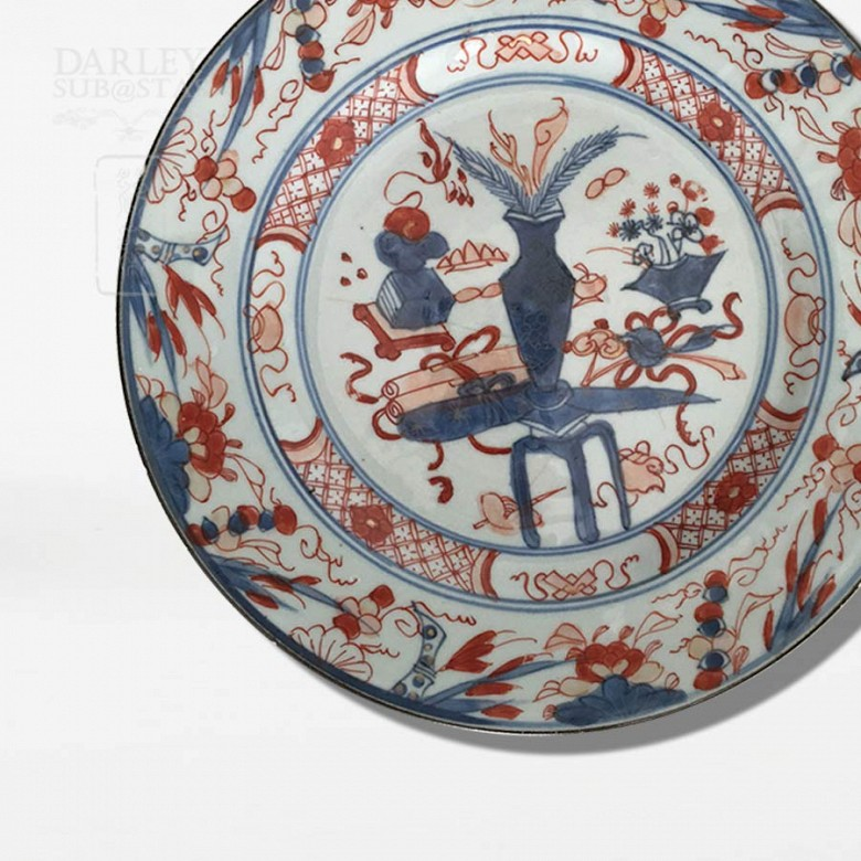 Plate 18th Century Indian Company - 1