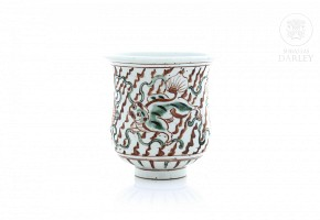 Chinese porcelain vessel, 20th century