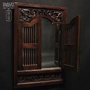 中式嵌镜木框 - 1