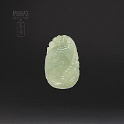 Natural jadeite pendant - 2