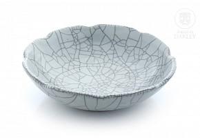 Glazed ceramic bowl in grayish glaze, 20th century
