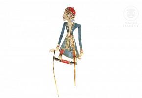 Marioneta de teatro, Indonesia, s.XIX