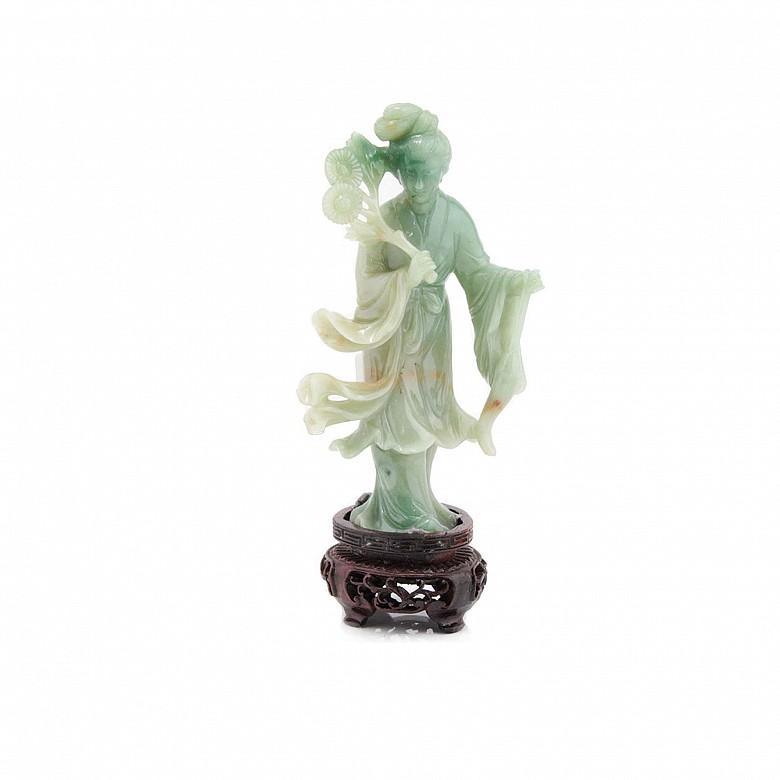 Figura de jadeita,