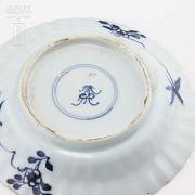 Couple XVII century Chinese plates, kangxi. - 5