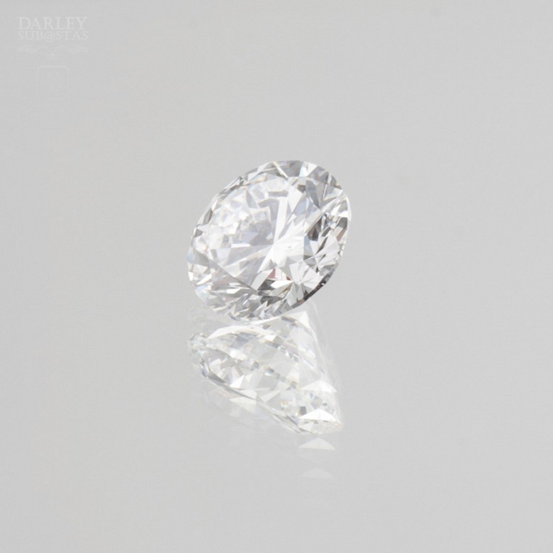 Diamante natural, talla brillante,de peso  1.51 cts, - 4