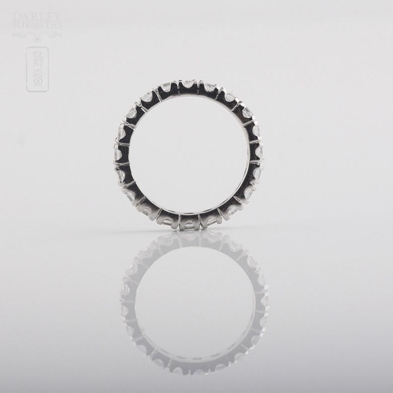 925银配圆晶石戒指 - 1