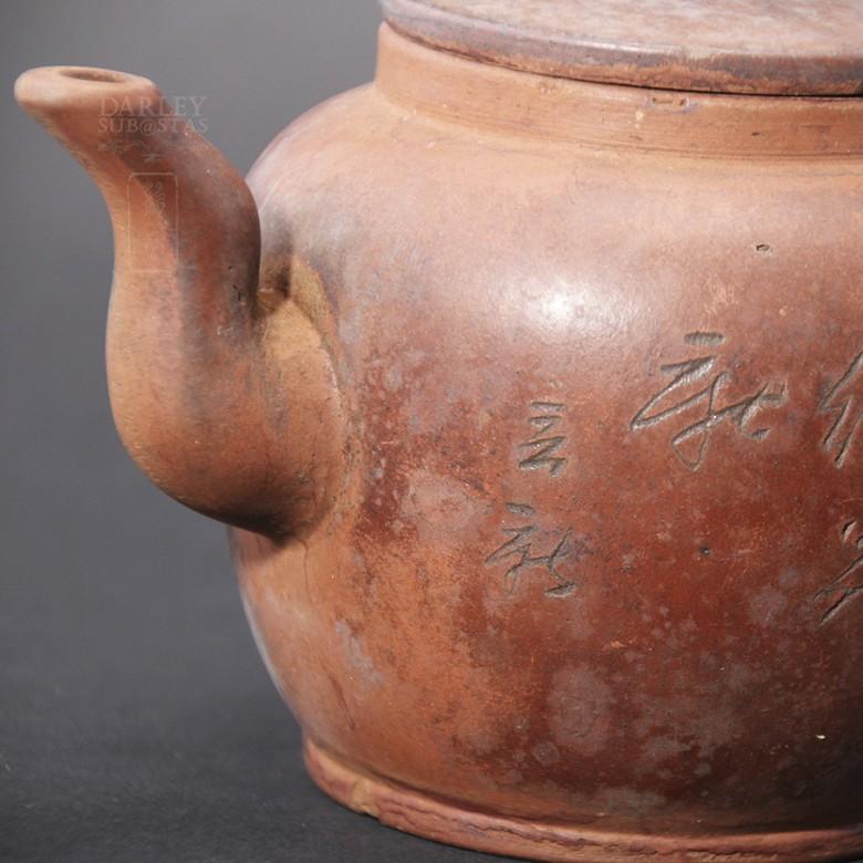 Preciosa Tetera  Antigua  de Yixing. - 5