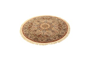 Round Oriental Carpet, 20th century