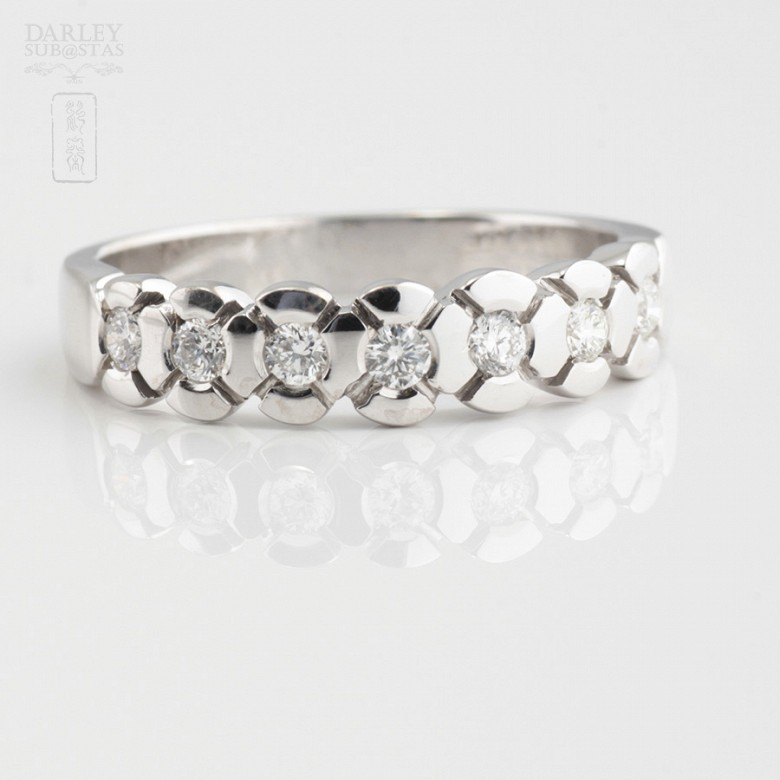 Media Alliance 0.28cts white gold and diamonds - 1