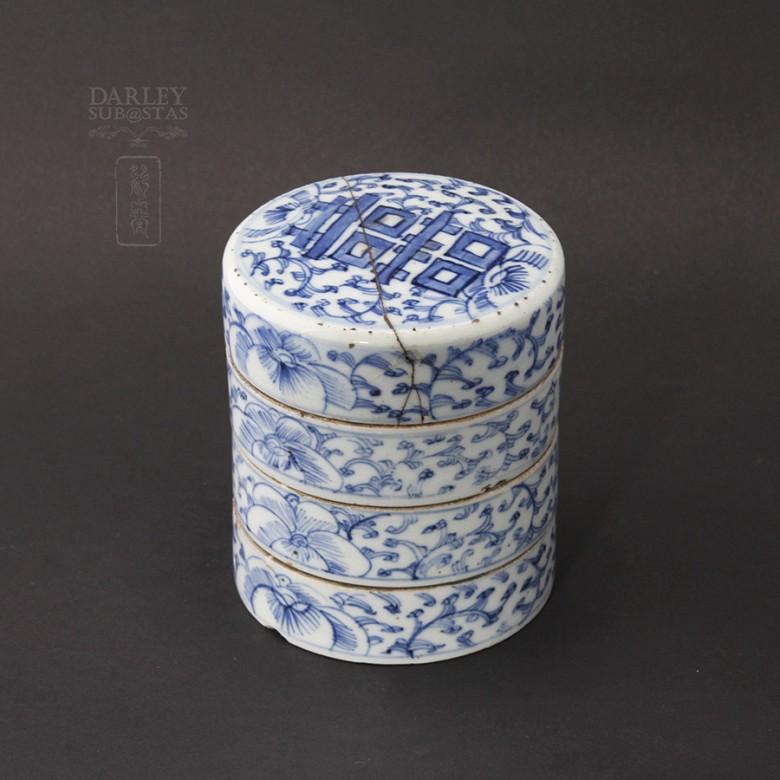 Preciosa  cerámica Antigua Dinastía Qing.