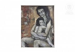 "Jose Picó Mitjans (1904-1991) ""Maternidad"""