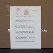 Conrado Meseguer Munoz 3 Lithographs 版画 - 1
