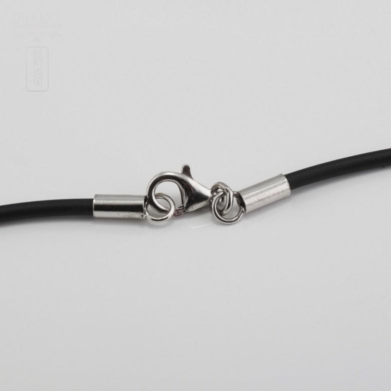 925银配黑珍珠项链 - 1