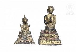 Lot of bronze sculptures,