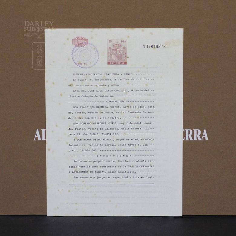 Conrado Meseguer Munoz 3 Lithographs - 1