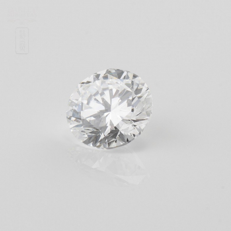 Diamante natural, talla brillante,de peso  1.51 cts, - 3