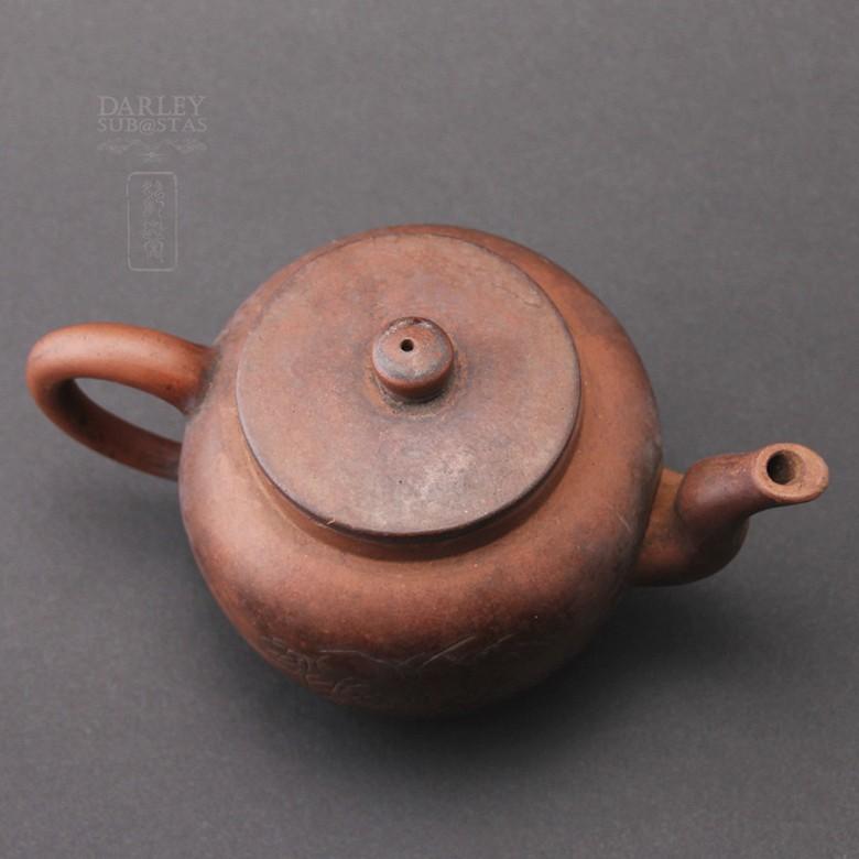 Preciosa Tetera  Antigua  de Yixing. - 3