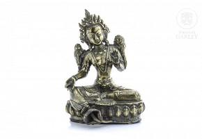 Bronze Buddha, China, 20th century