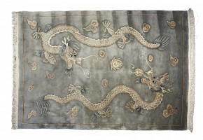 Alfombra de lana, China, s.XX