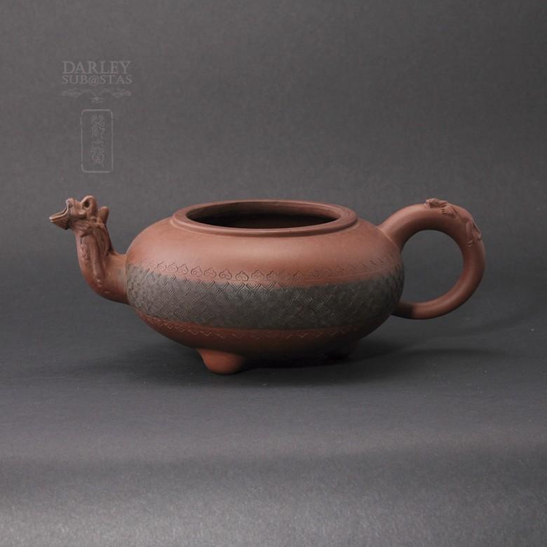 Tetera de Yixing con forma de camello.