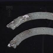 Pareja de Jades, Dinastía Zhou Reinos Combatientes - 4