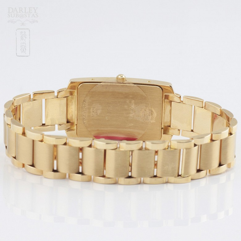 Gold Swiss Watch Cyma18k 黄金腕表 - 4