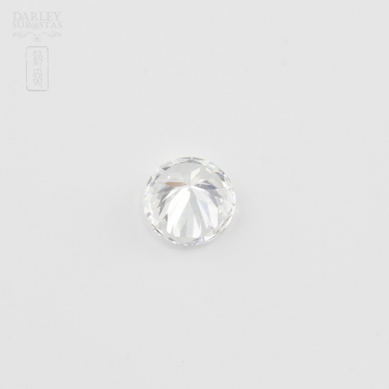 Diamante natural, talla brillante,de peso  1.51 cts, - 1
