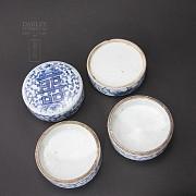 Preciosa  cerámica Antigua Dinastía Qing. - 3