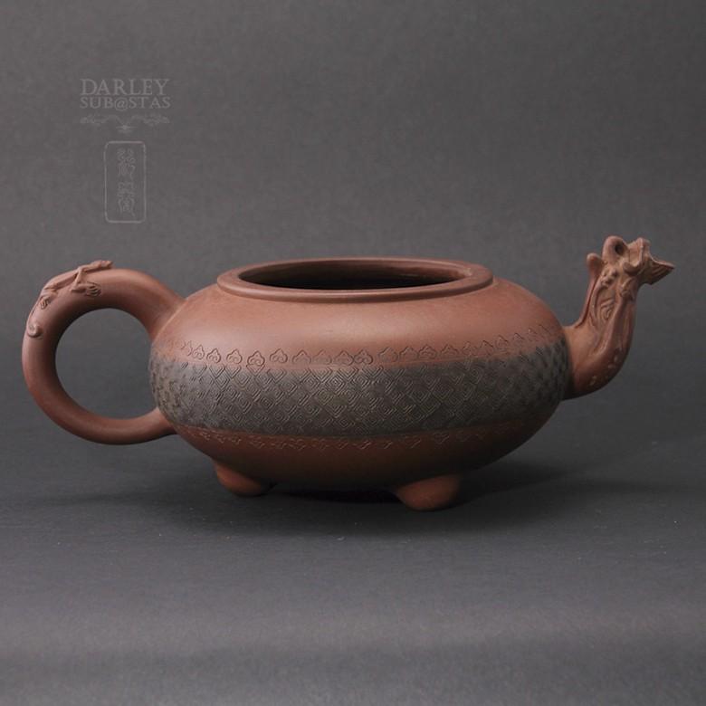 Tetera de Yixing con forma de camello. - 1