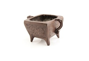Incensario de bronce chino, período Zhengde (1506-1521)