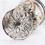 Silver brass chiller - 4