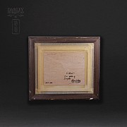 """""""马厩  """".   Alfonso Ortuño(印象派) - 3"""