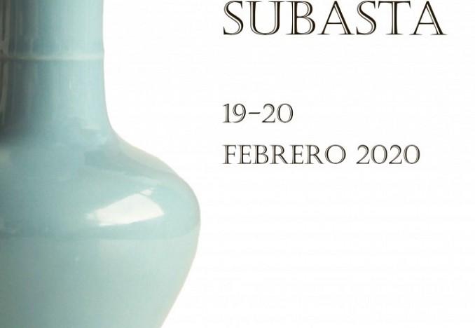 SUBASTA PRESENCIAL 19 FEBRERO 2020 Joyas y Arte Oriental. Exposición en sala del 5 al 18 de febrero.