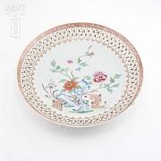 十八世纪瓷盆 - 1