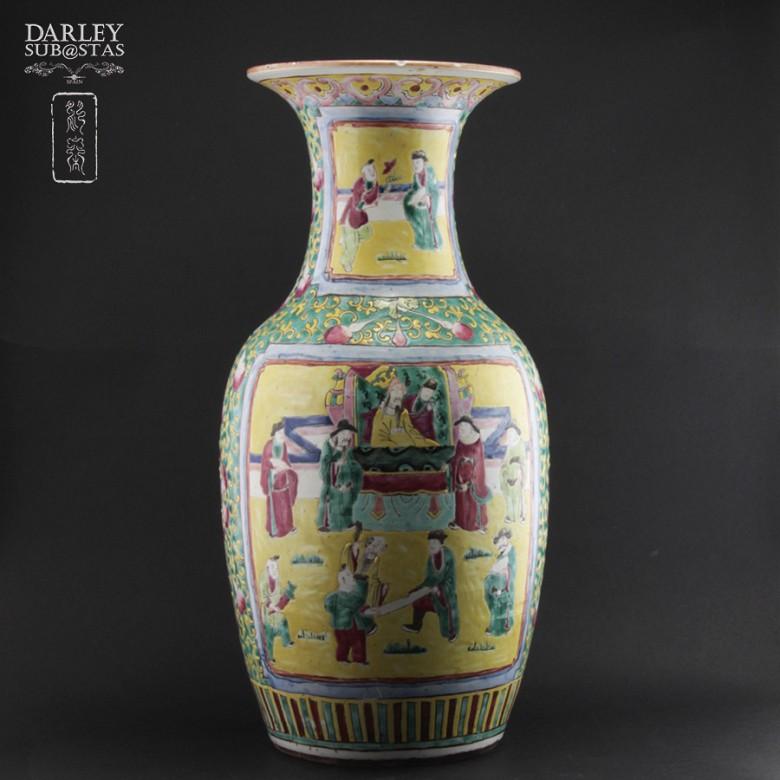 十九世紀 中國花瓶 - 1