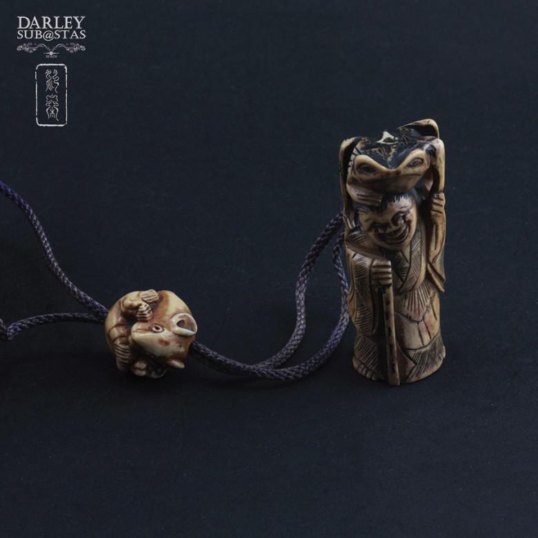 Precioso bolso de bambu - 1