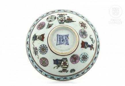 Cuenco de porcelana china, s.XX