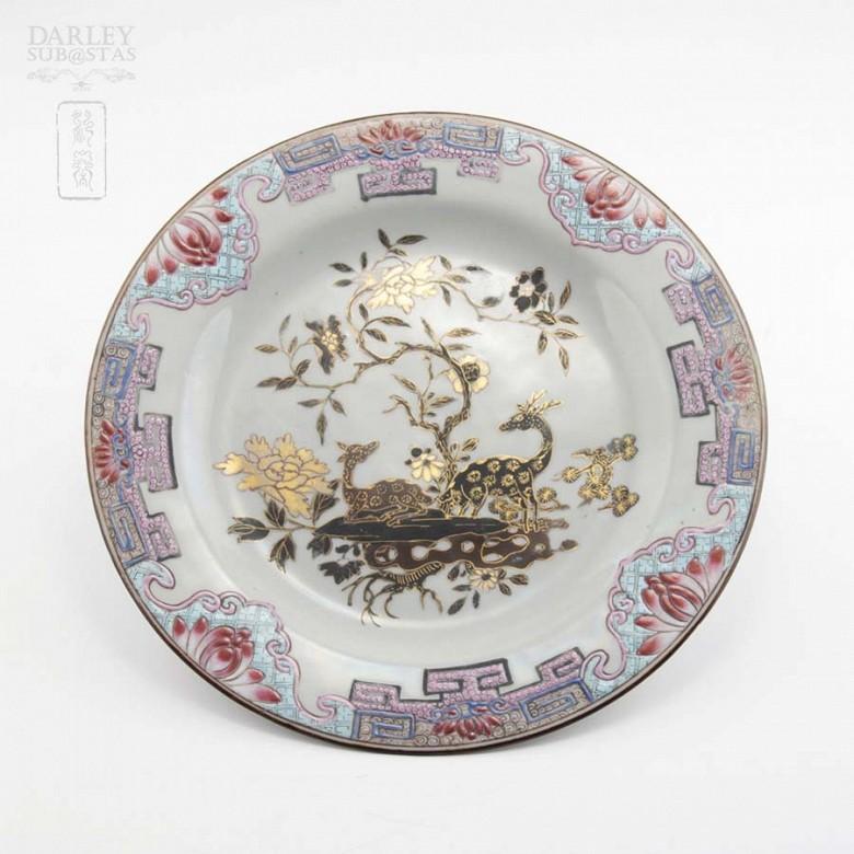 18th century plate Yongzheng