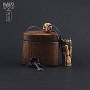 Precioso bolso de bambu - 3