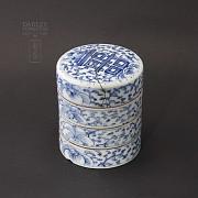 Lovely set of ceramic Antigua Qing Dynasty.
