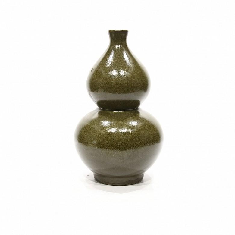 Jarrón chino de doble calabaza, s.XX