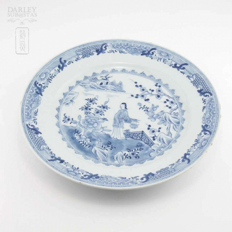 18th Century plate Company of Indies - 2